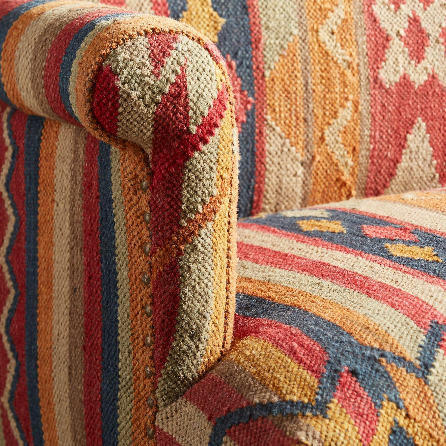 CABIN CREEK KILIM LOVESEAT: View 4