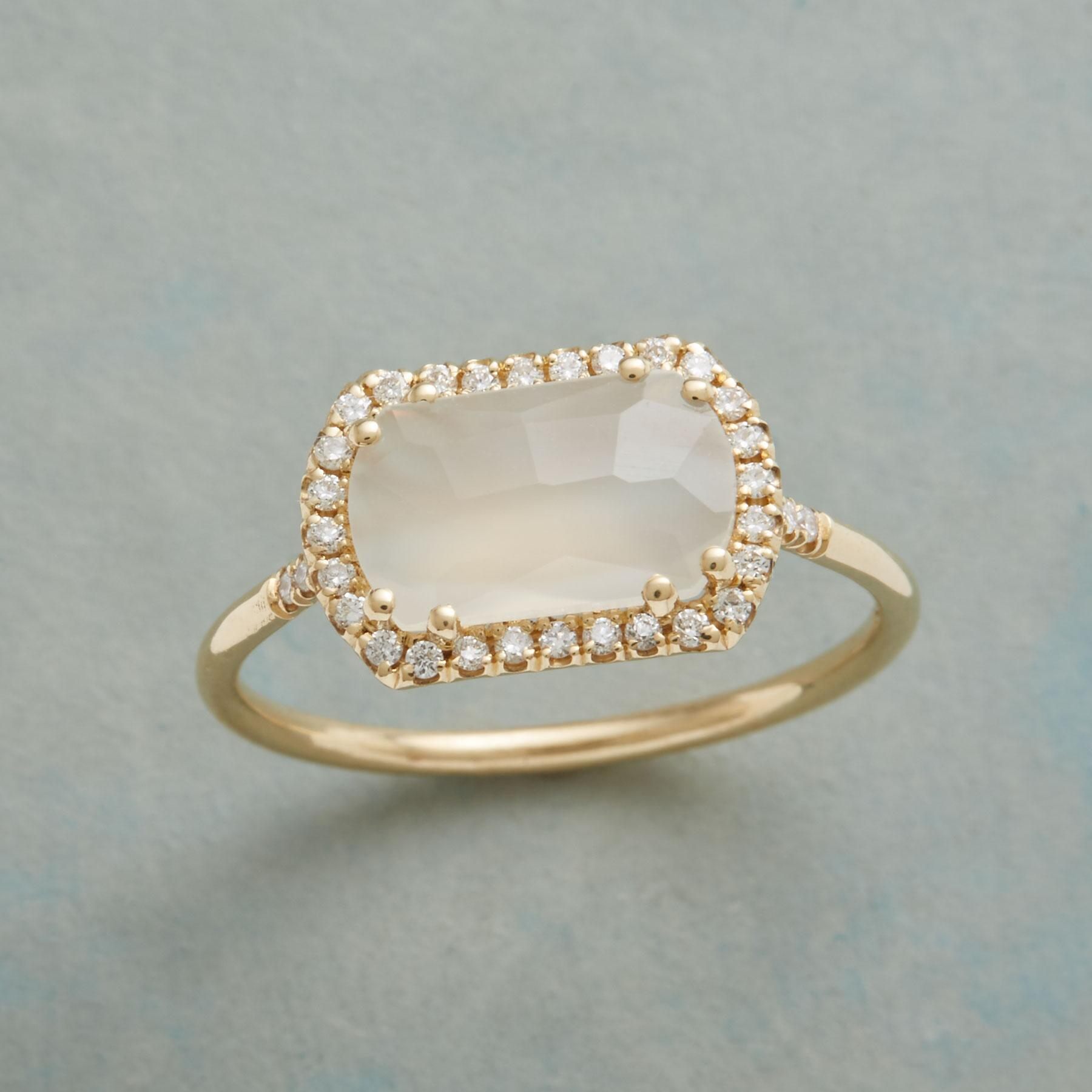 DIAMOND MOONBEAMS RING: View 1
