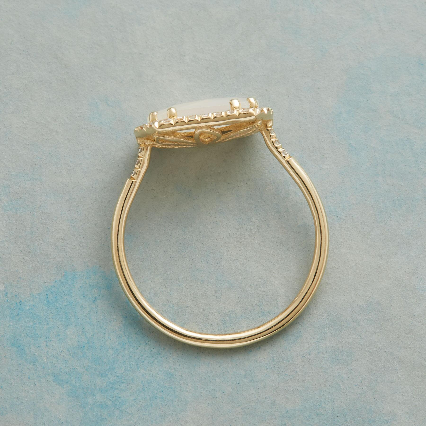 DIAMOND MOONBEAMS RING: View 2