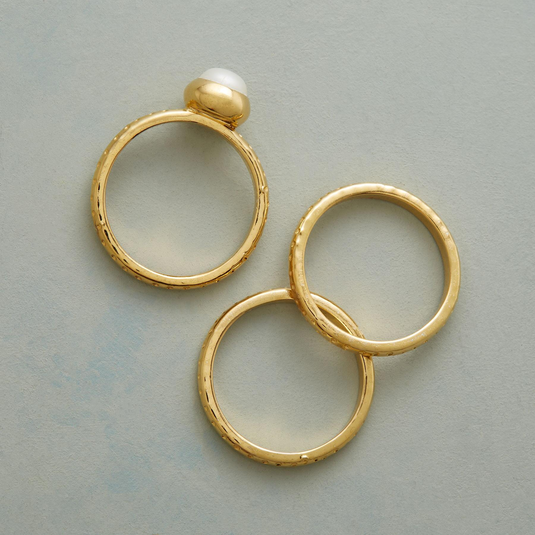 DOTTY & PEARL RINGS: View 2
