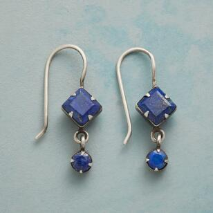 LI'L LAPIS EARRINGS