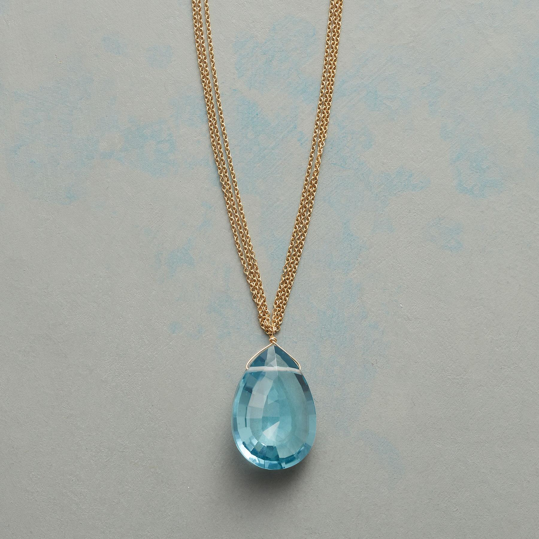 AZURE NECKLACE: View 1
