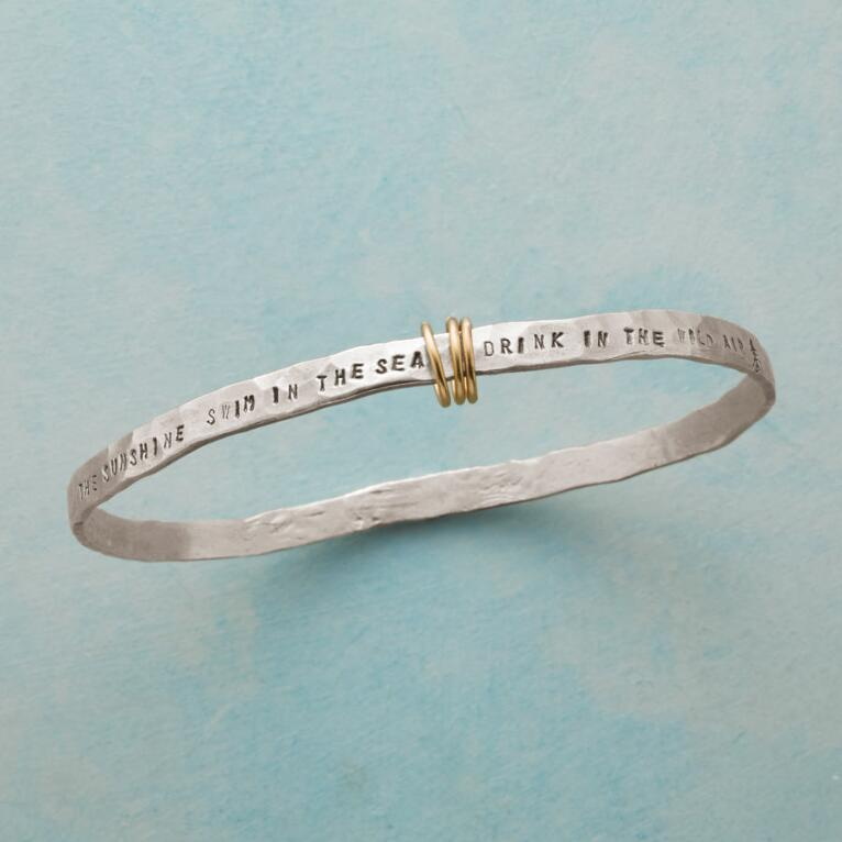 LIVE IN THE SUNSHINE BANGLE