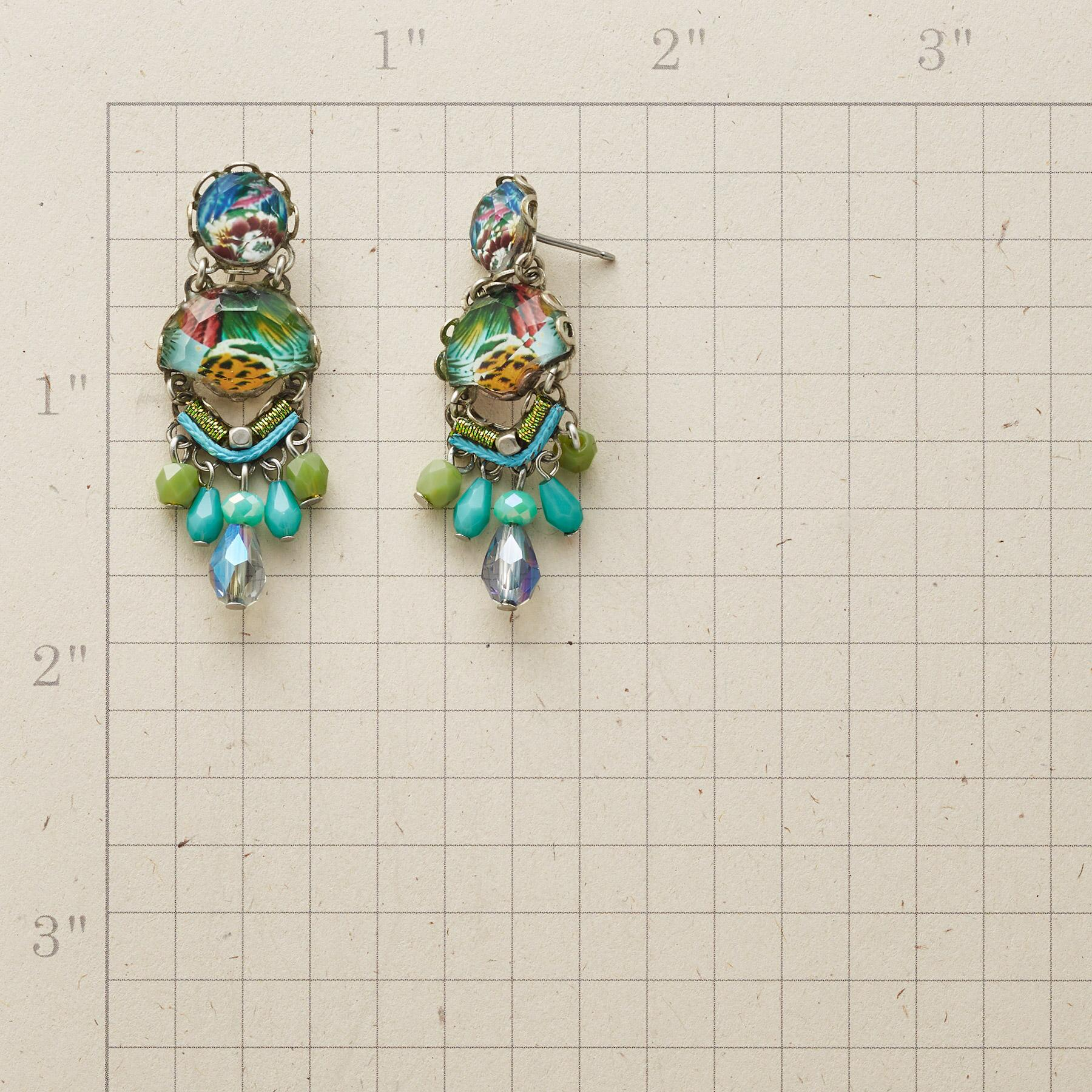 SPRINGTIME IN PARIS EARRINGS: View 2
