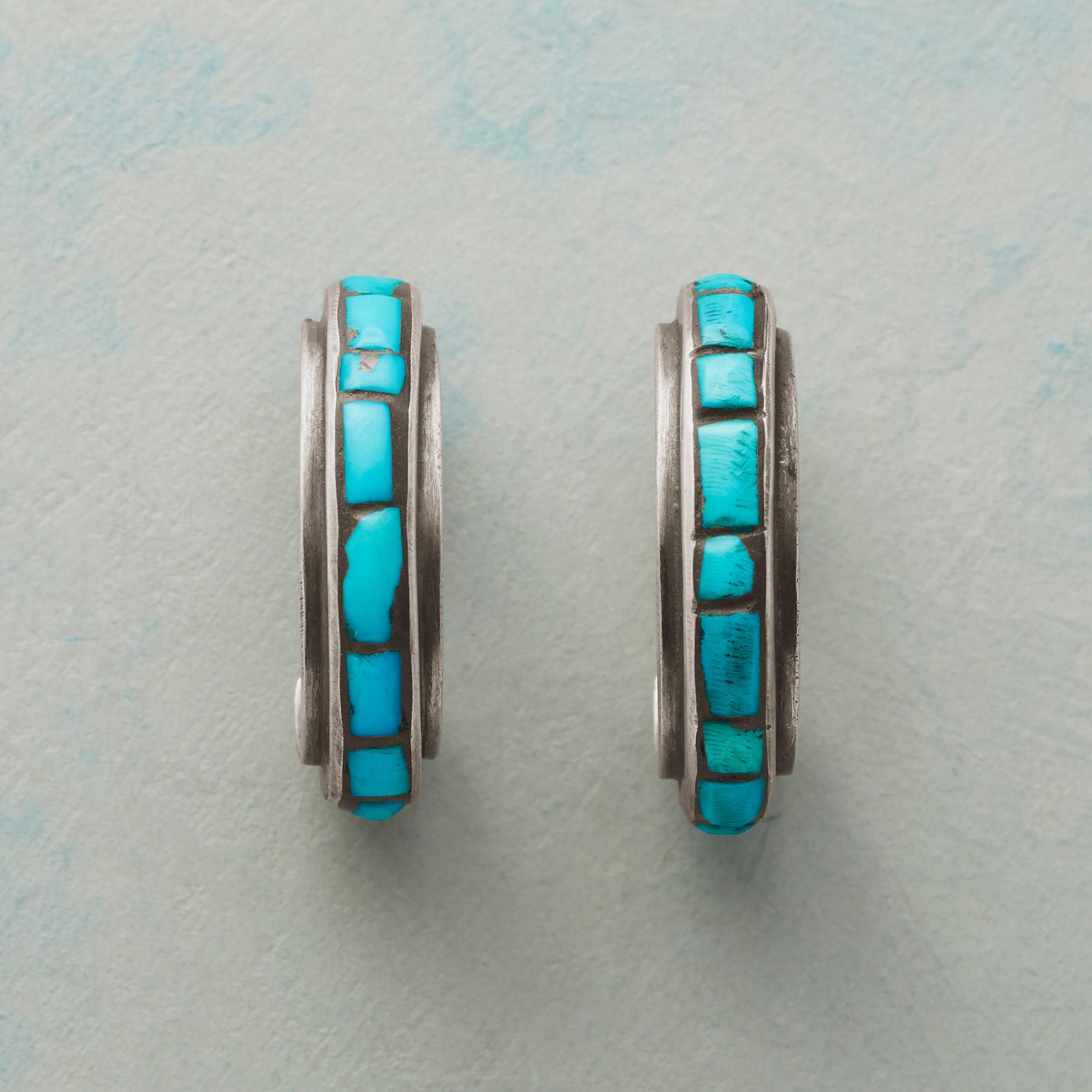 LONG ON TURQUOISE EARRINGS: View 2