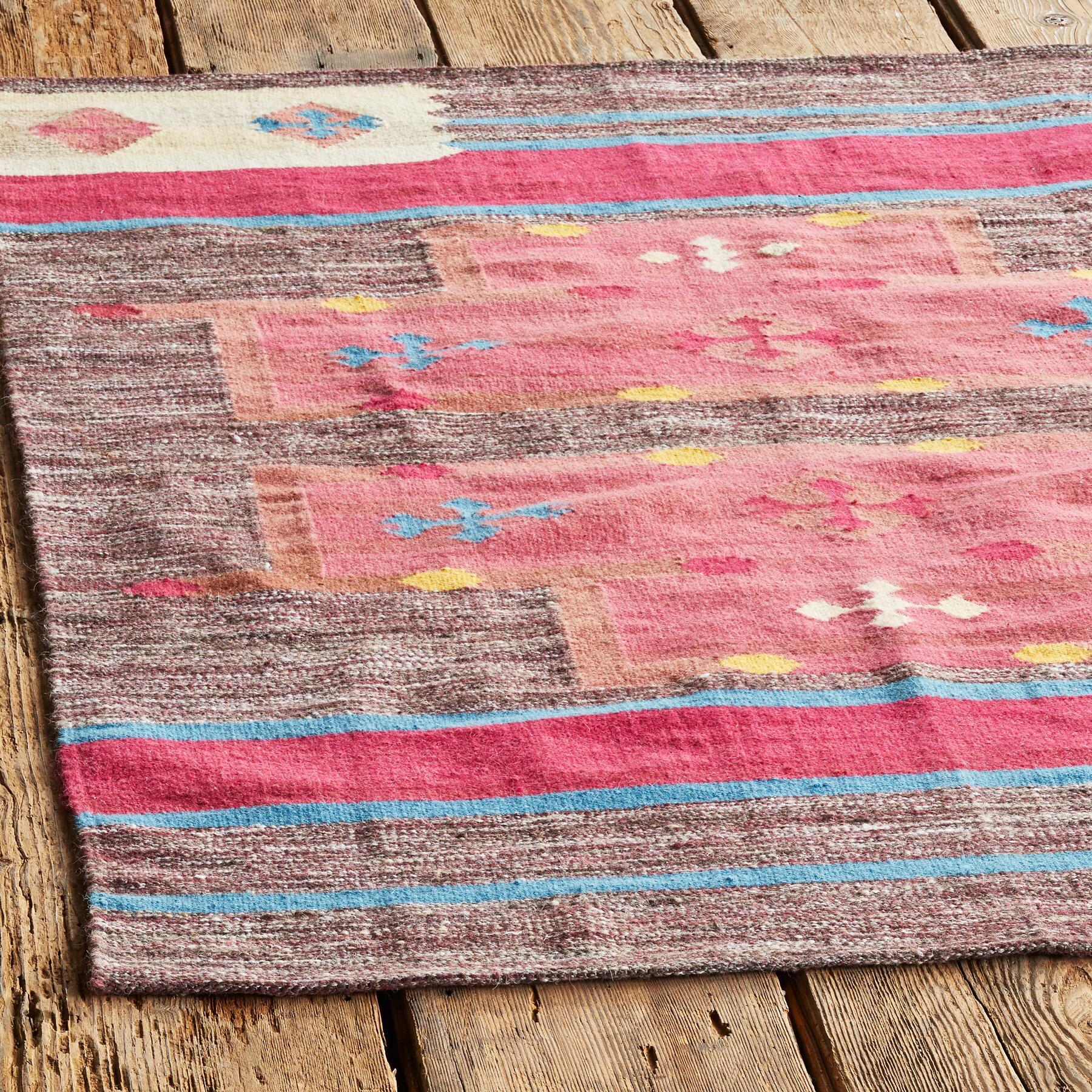 DESERT GLOW DHURRIE RUG: View 2
