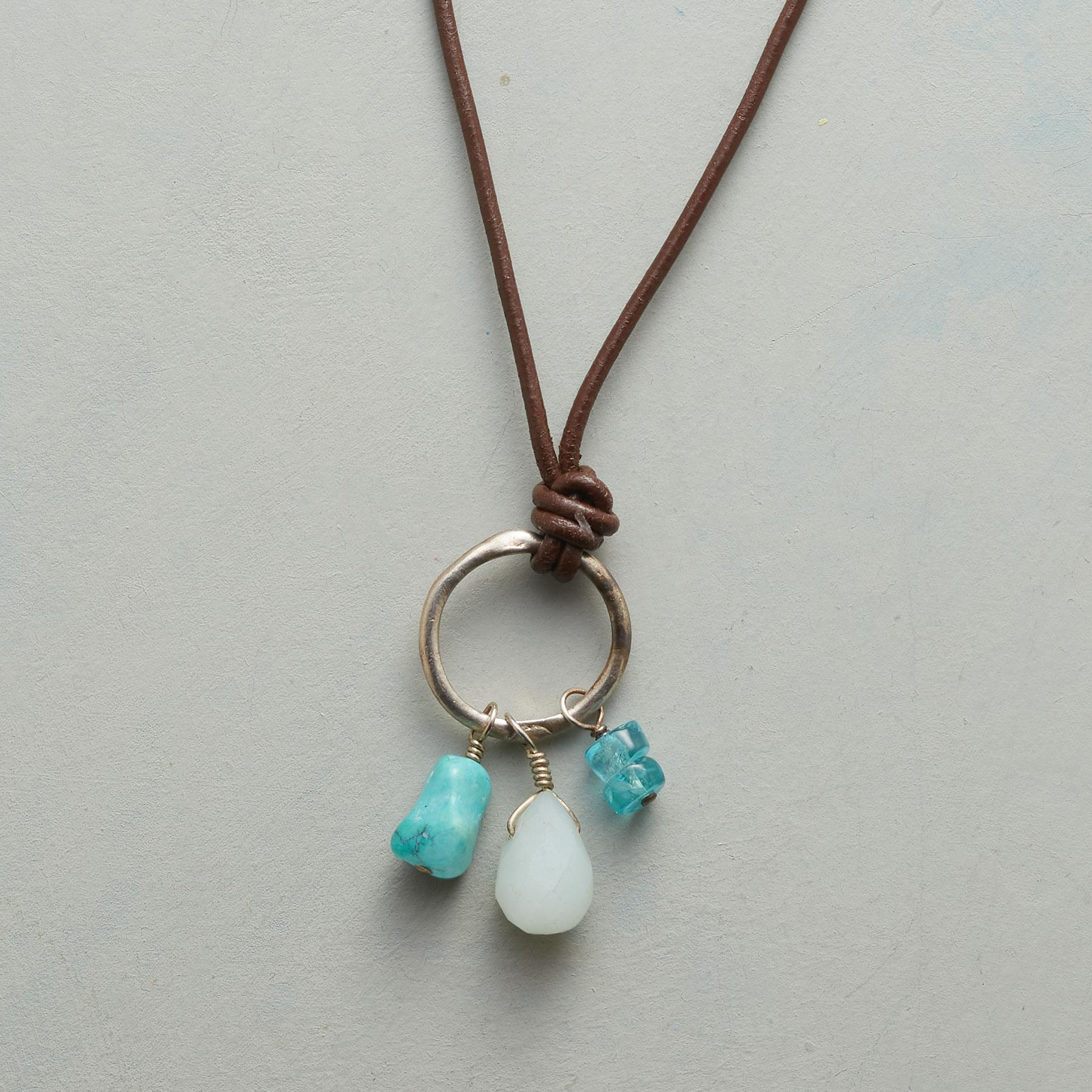 DANGLING BLUES NECKLACE: View 1