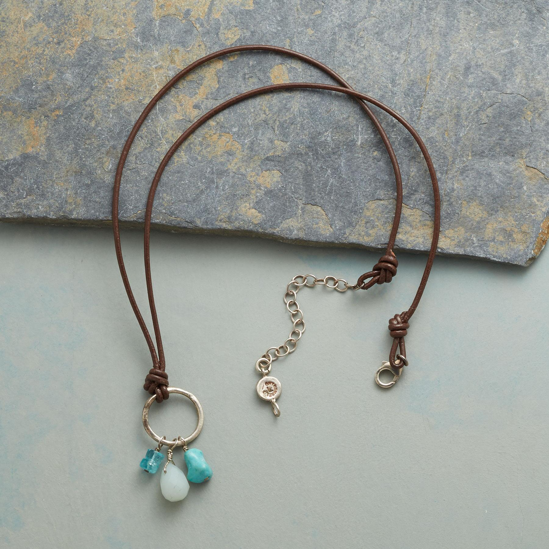 DANGLING BLUES NECKLACE: View 2