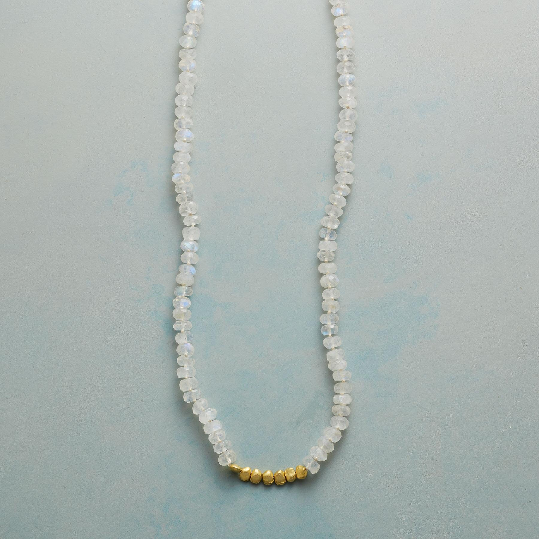 MOON GLEAM NECKLACE: View 1