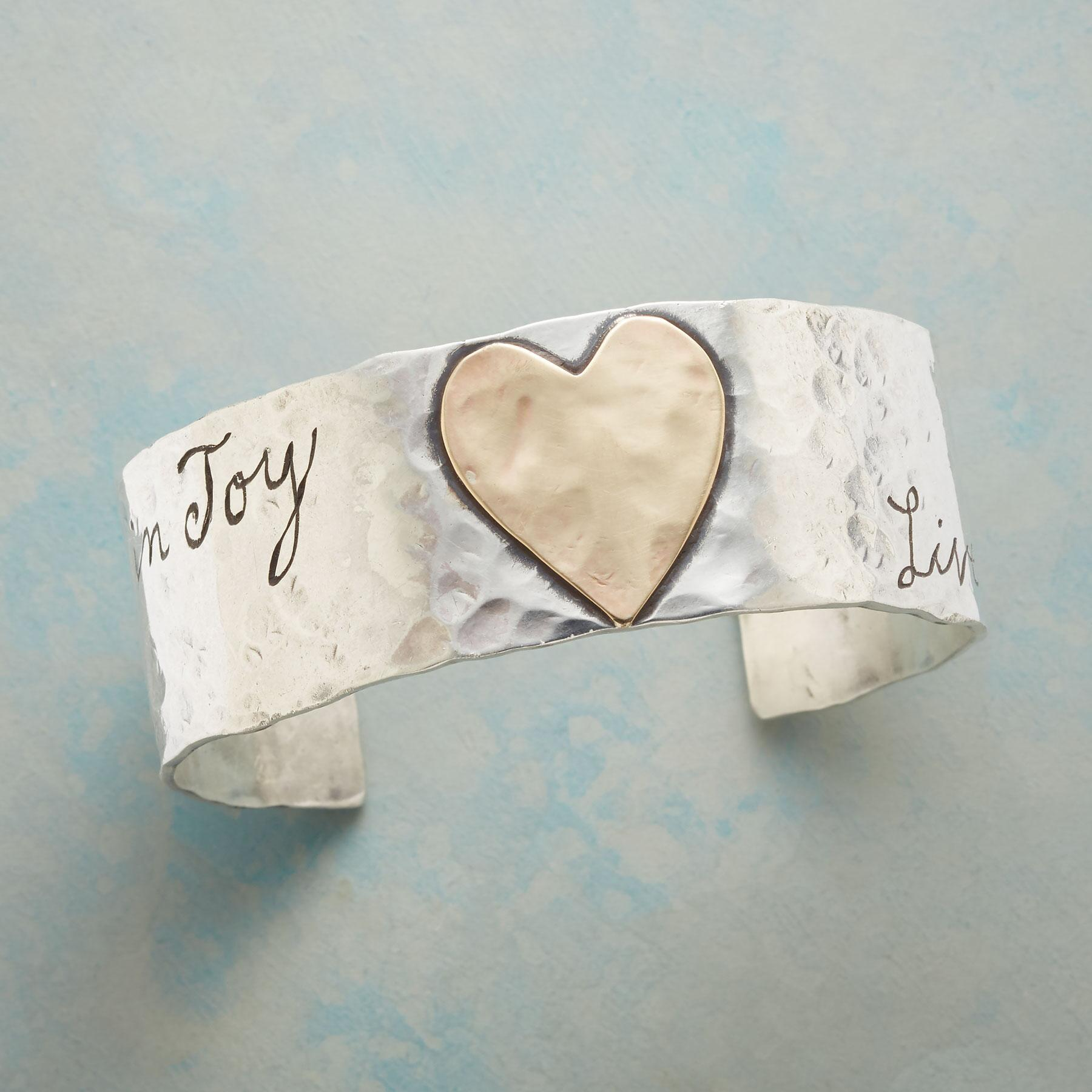 LIVE THE JOY CUFF: View 1