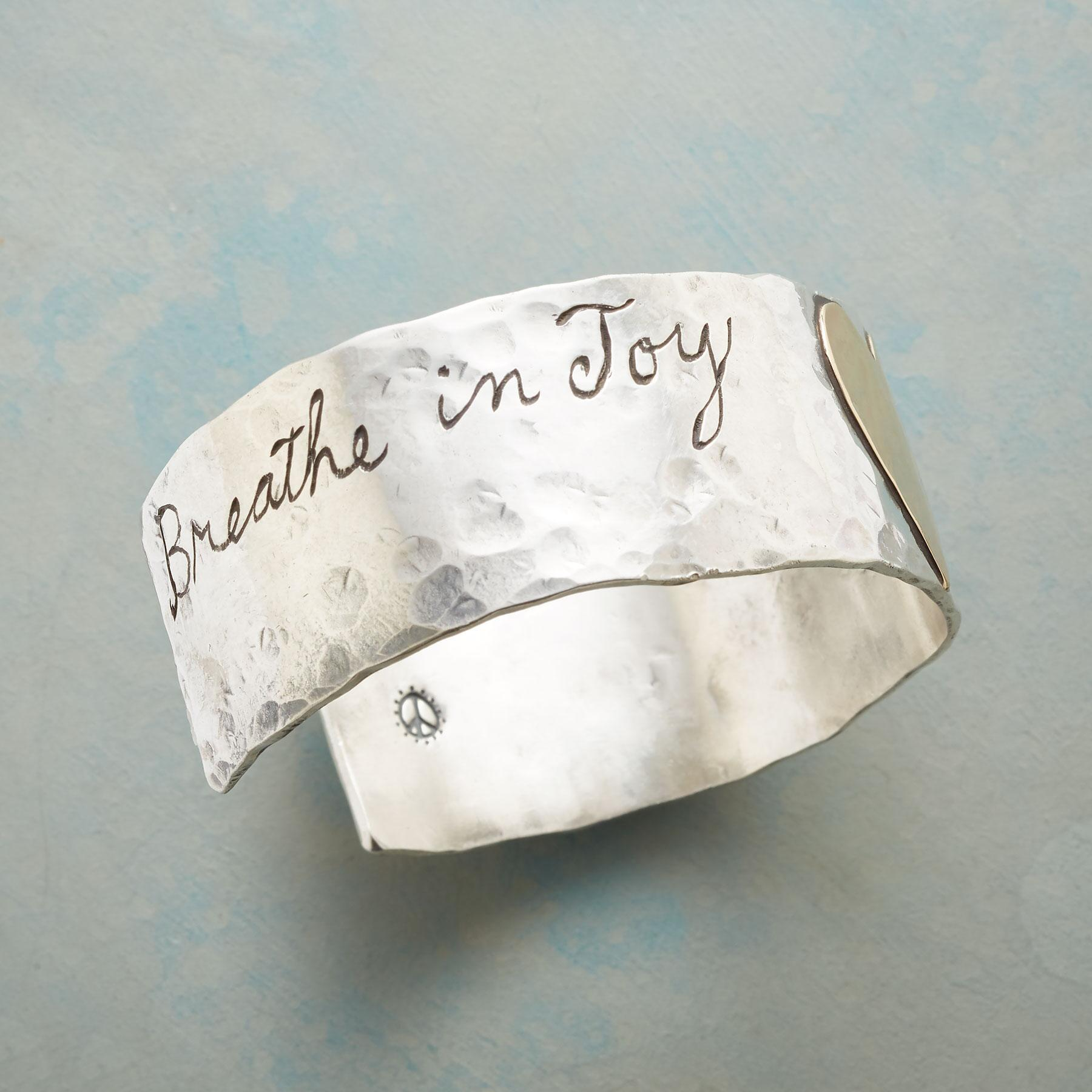 LIVE THE JOY CUFF: View 2