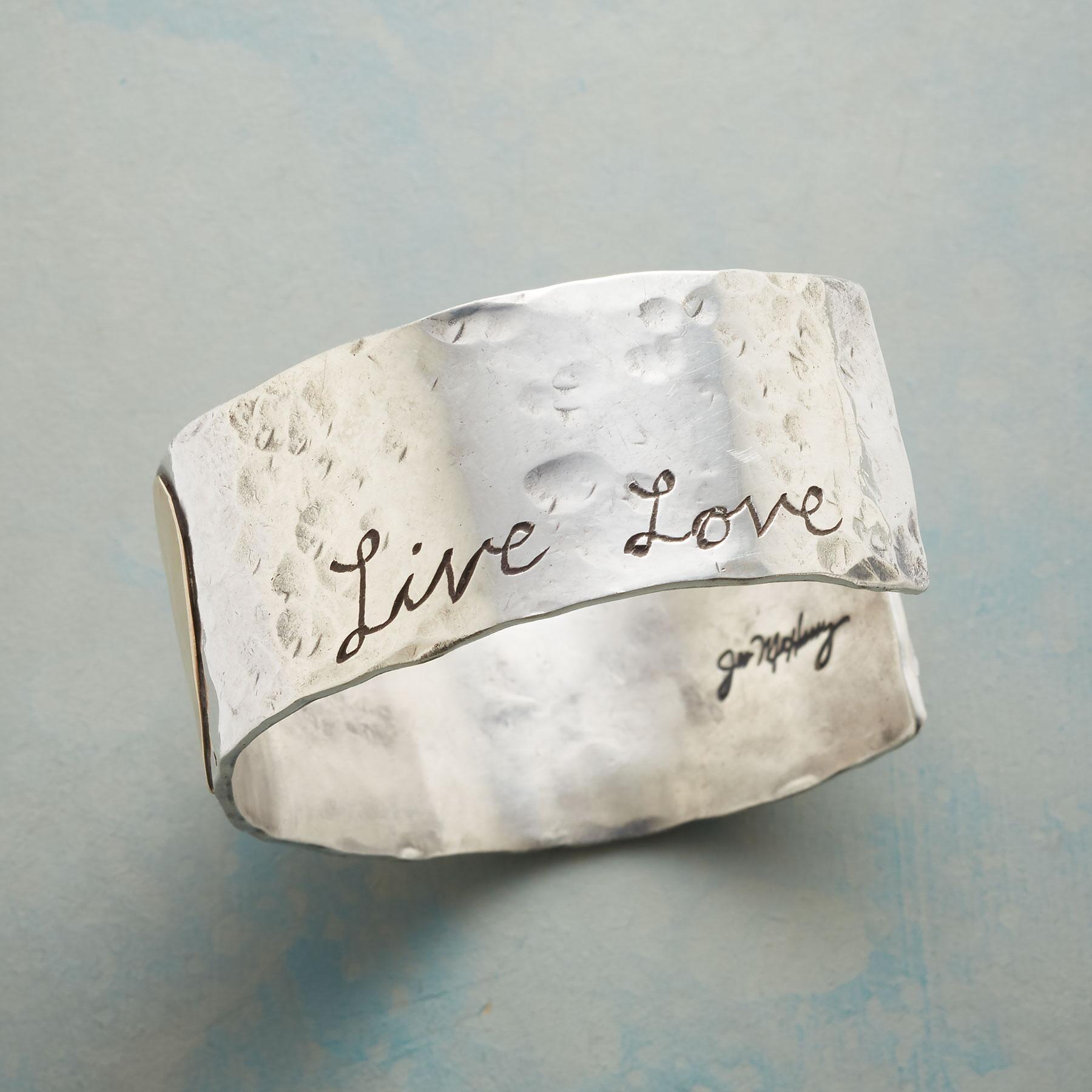 LIVE THE JOY CUFF: View 3