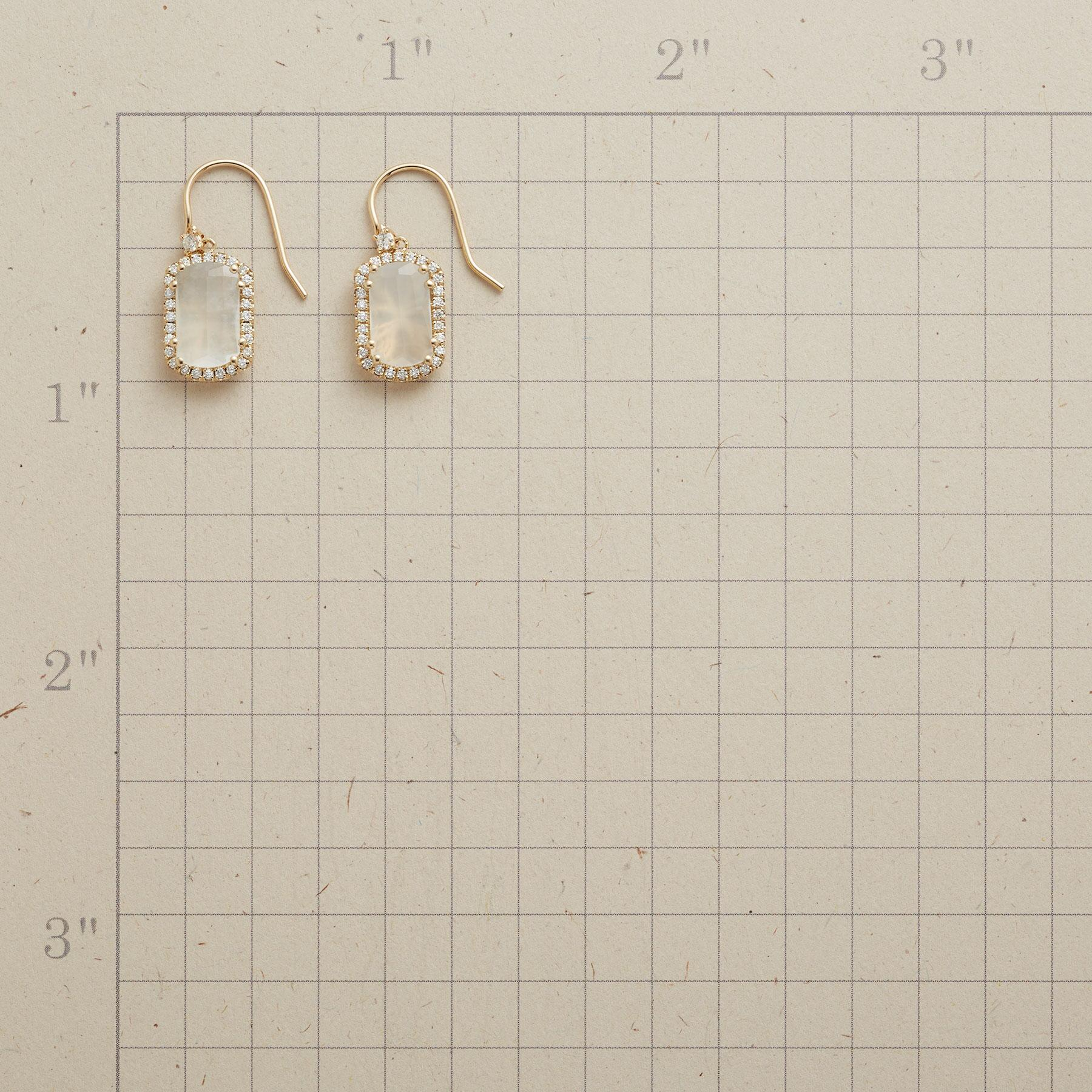 DIAMOND MOONBEAMS EARRINGS: View 2