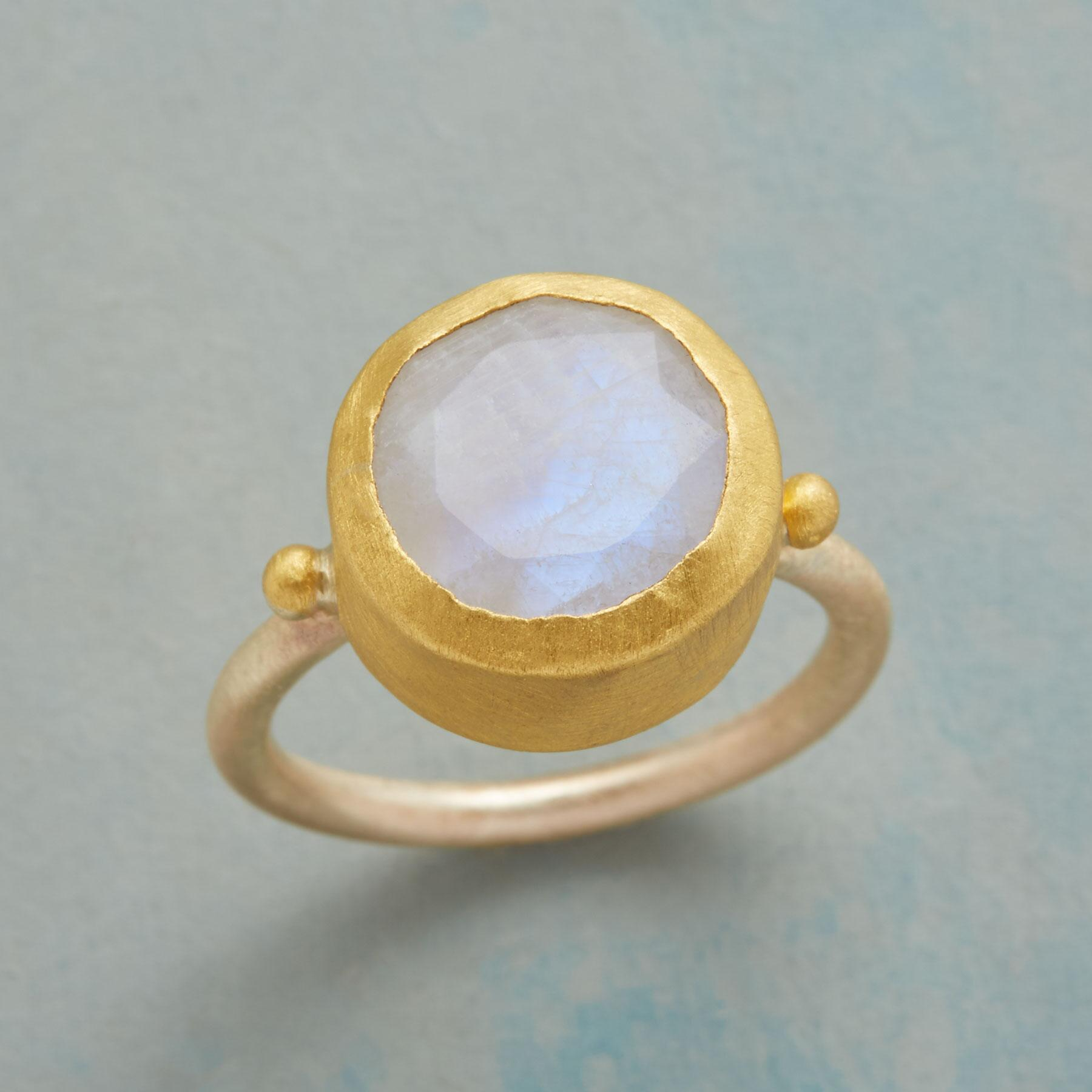 MAGIC MOONSTONE RING: View 1
