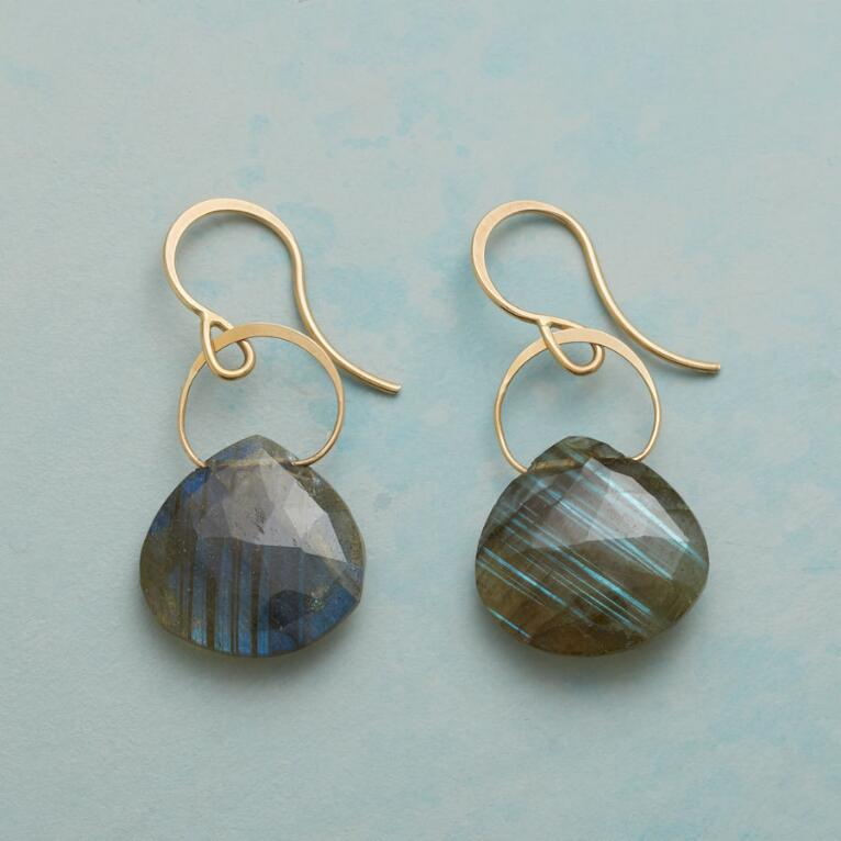LYRICAL LABRADORITE EARRINGS