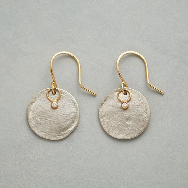 PARCHMENT PRINT EARRINGS