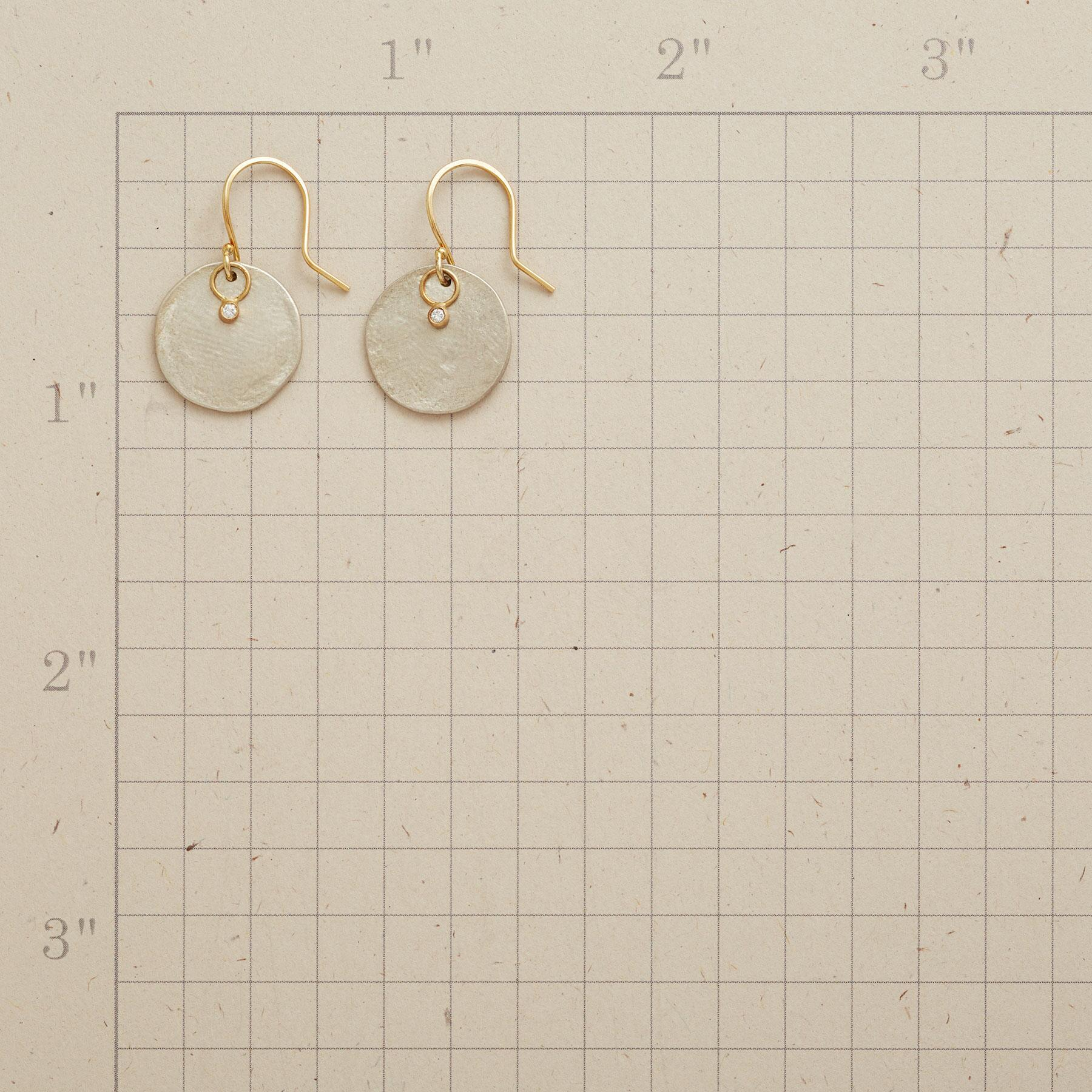 PARCHMENT PRINT EARRINGS: View 2