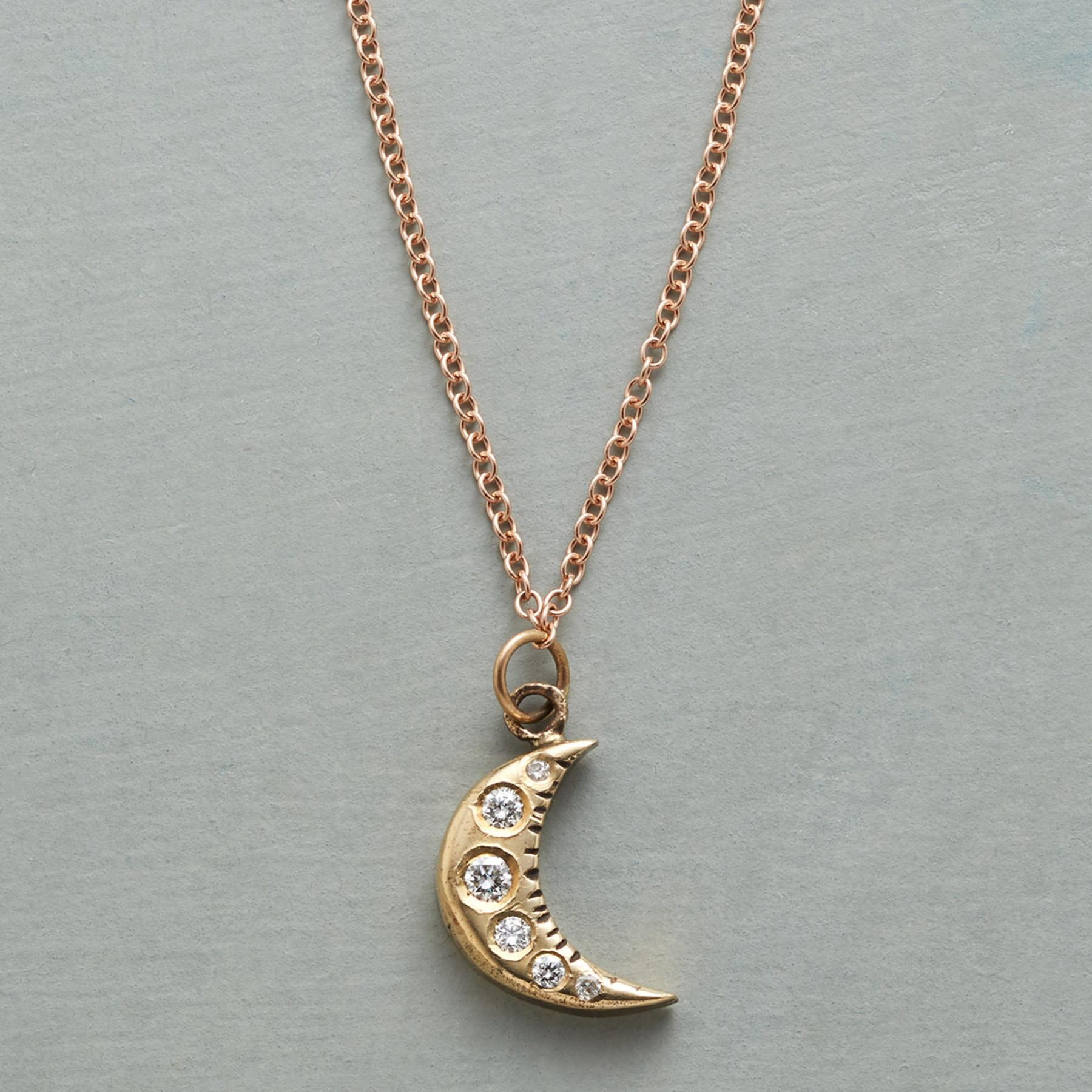 LIGHT OF THE MOON NECKLACE: View 1