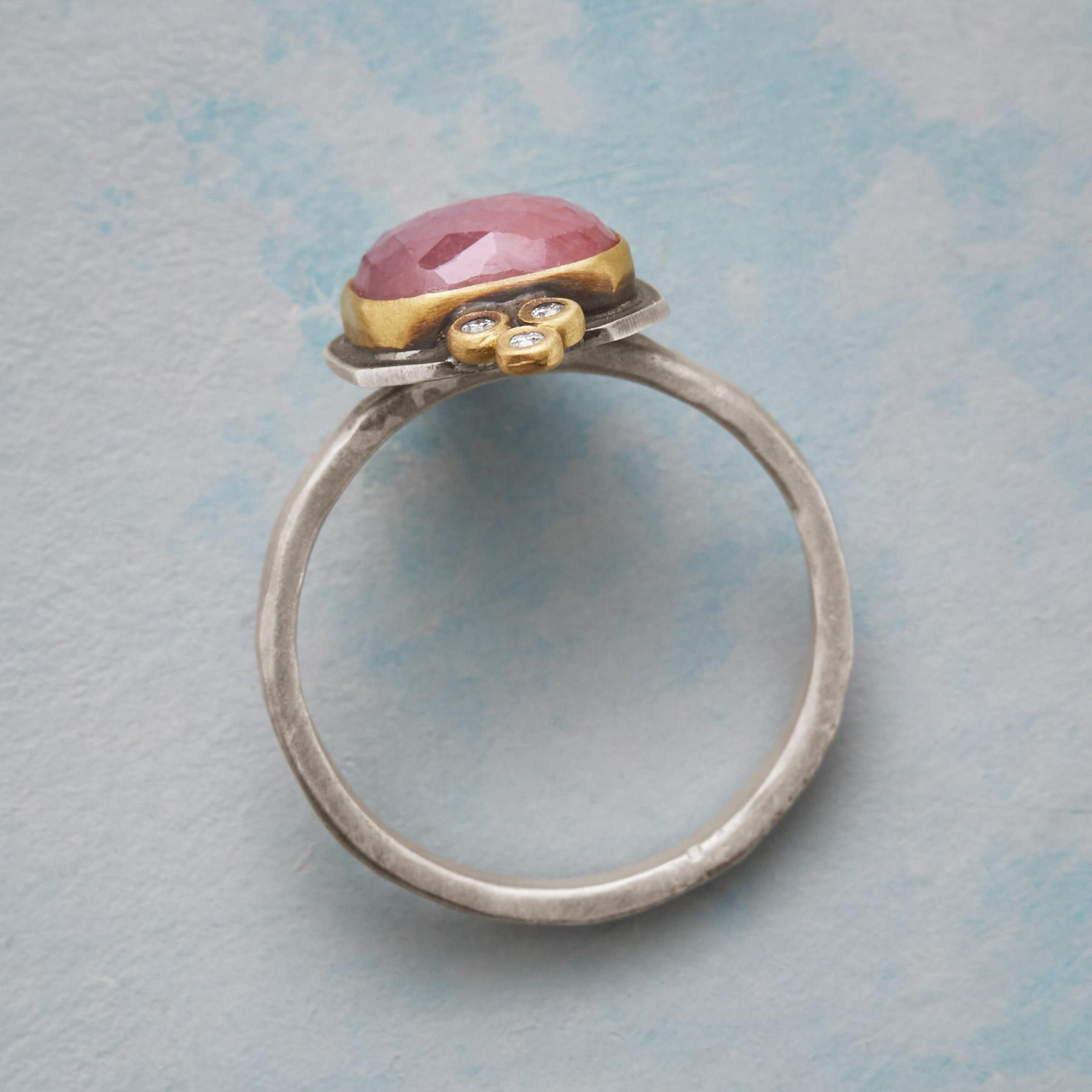 BLUSHED DIAMOND RING: View 2