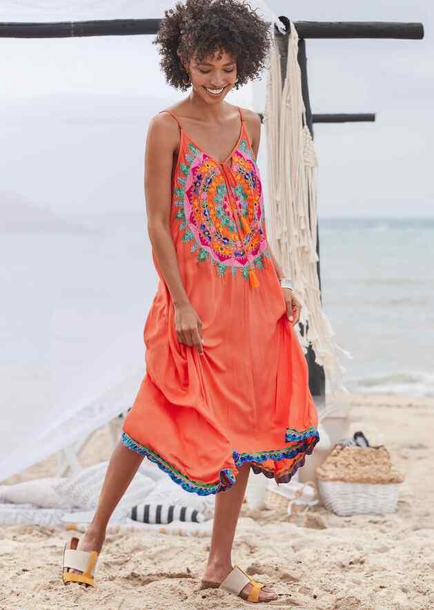 MEADOW MANDALA DRESS