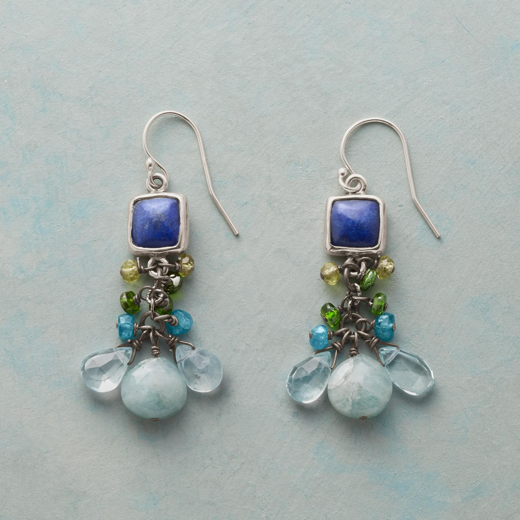 WATER BALLET EARRINGS: View 1