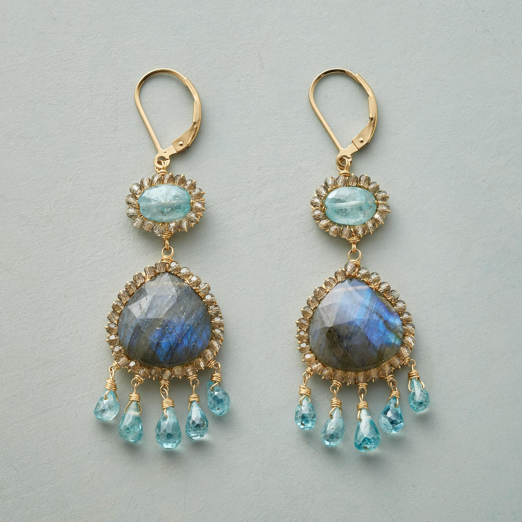 WALTZ IN BLUE EARRINGS: View 1