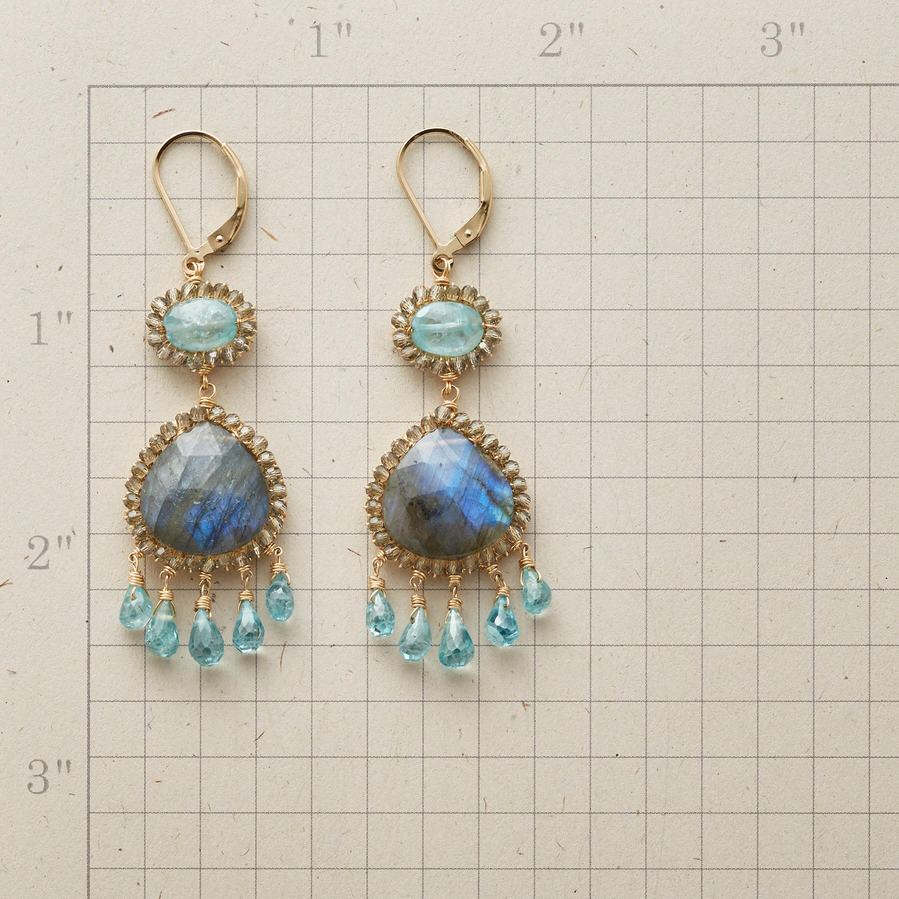 WALTZ IN BLUE EARRINGS: View 2