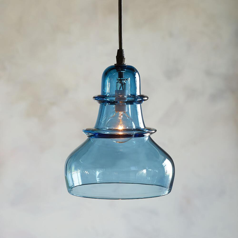 Salon Glass Demijohn Pendant Light | Robert Redford\'s Sundance Catalog
