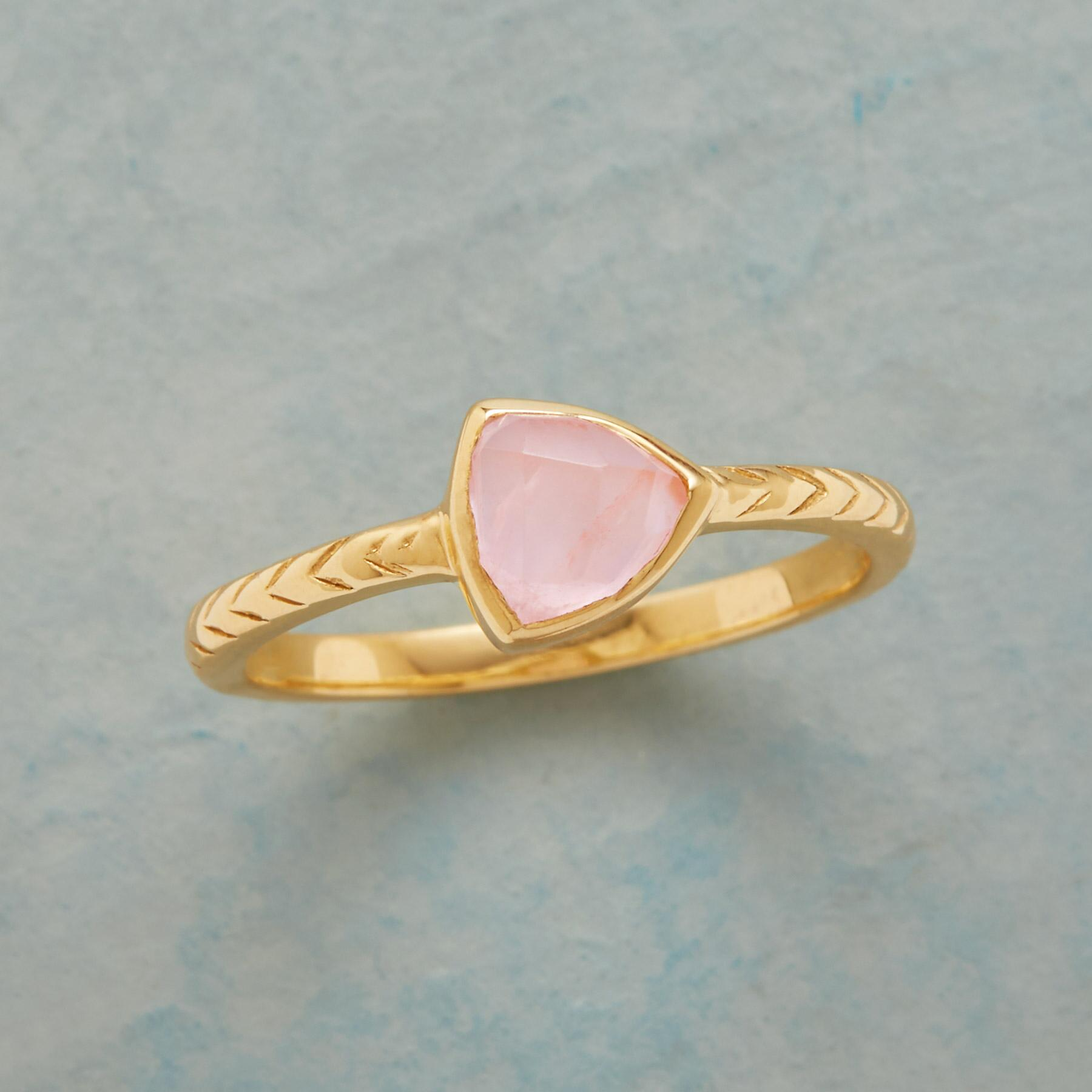 POINTEDLY PINK RING: View 1
