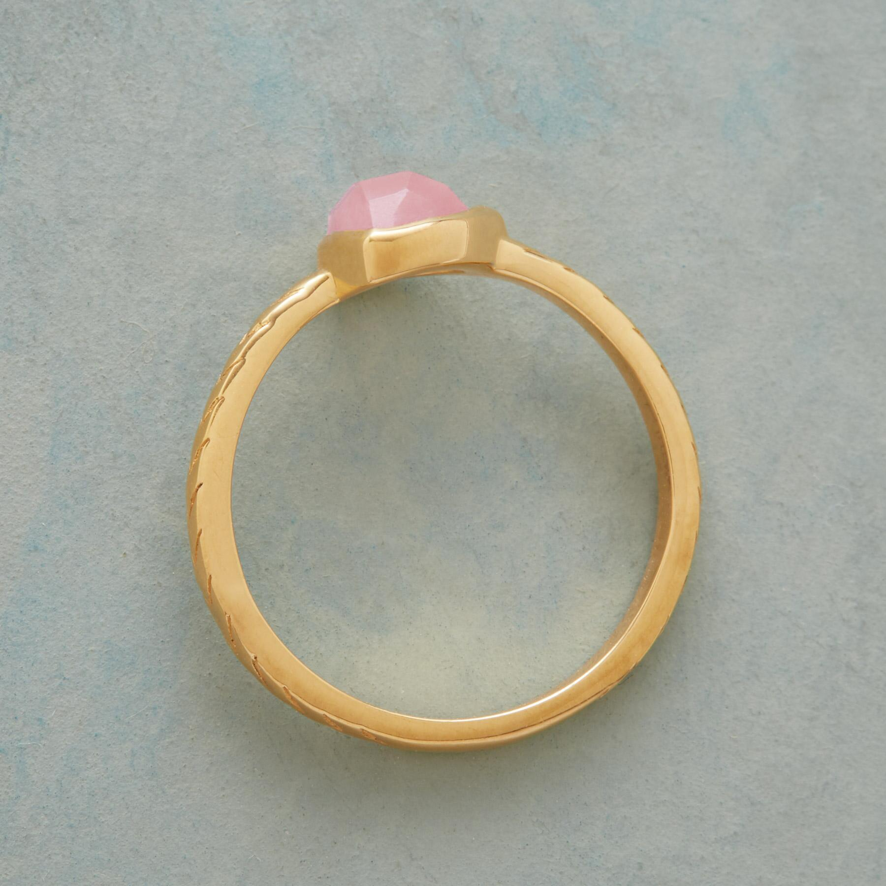 POINTEDLY PINK RING: View 2
