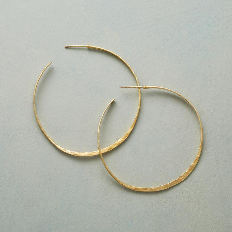 WANDERLUST HOOP EARRINGS
