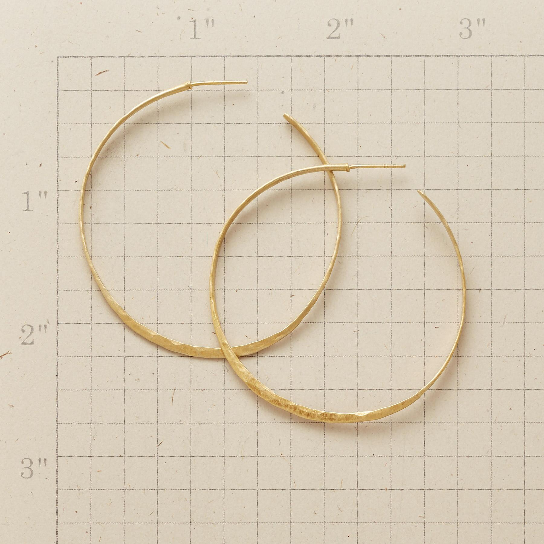 WANDERLUST HOOP EARRINGS: View 2