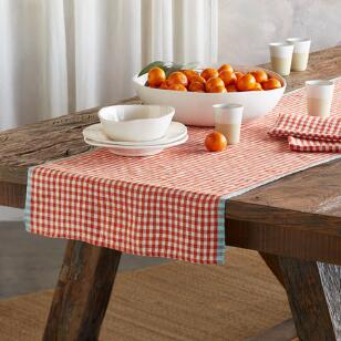 SPRINGHILL LINEN TABLE RUNNER