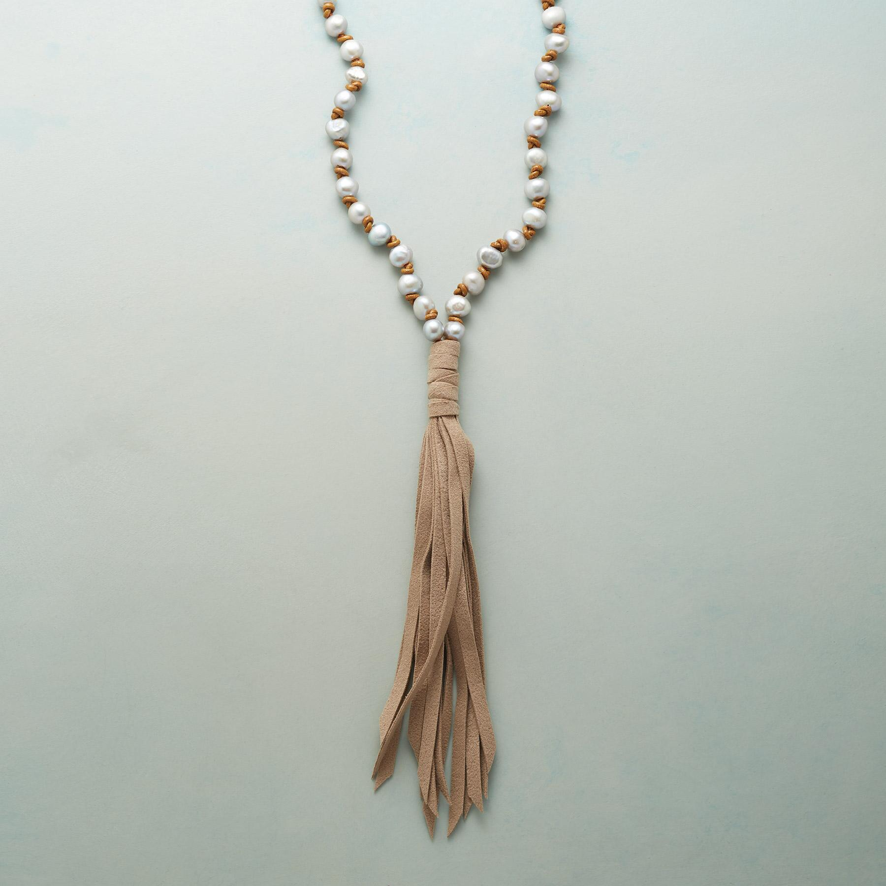 THALIA TASSELED NECKLACE: View 1