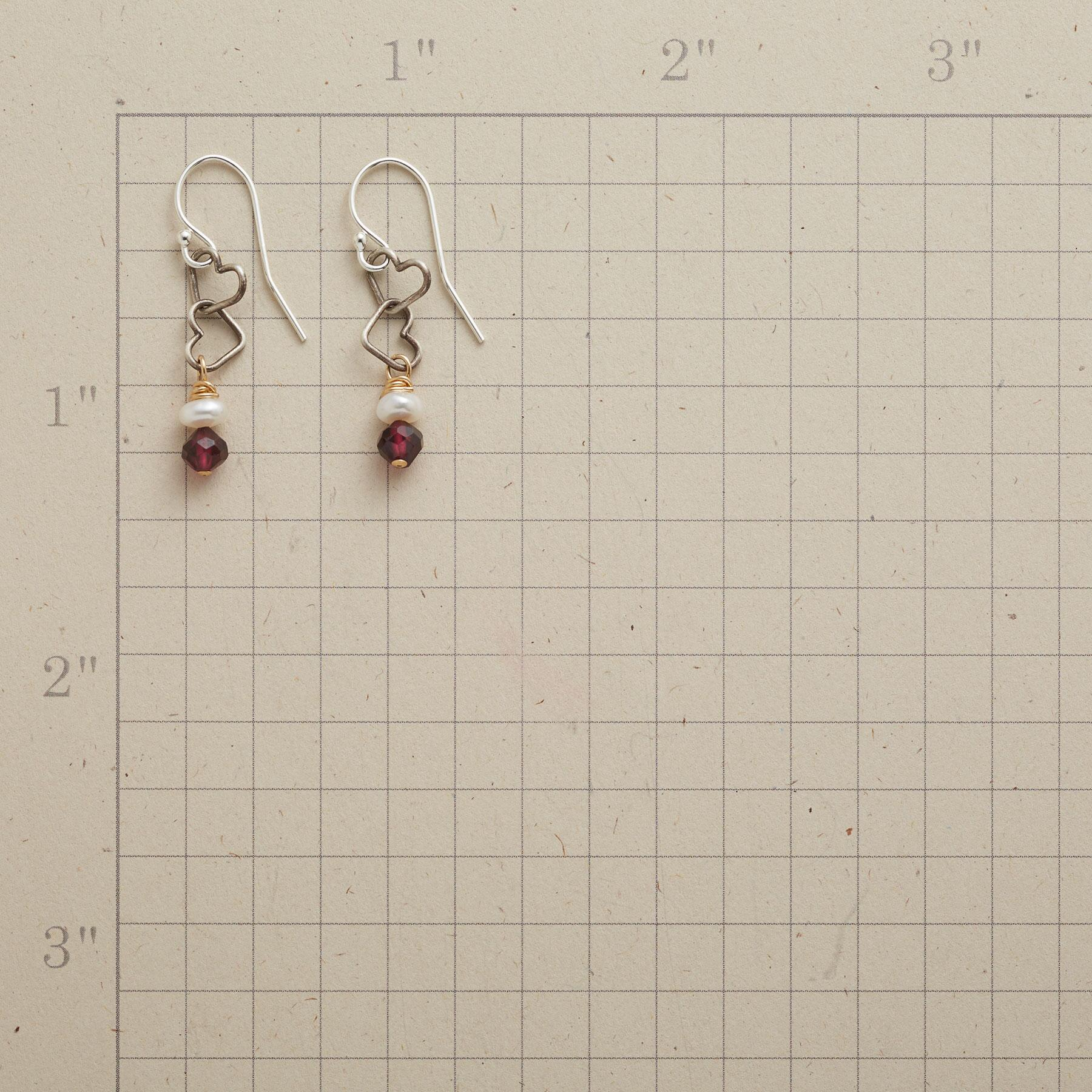 LOVE AND BE LOVED EARRINGS: View 2