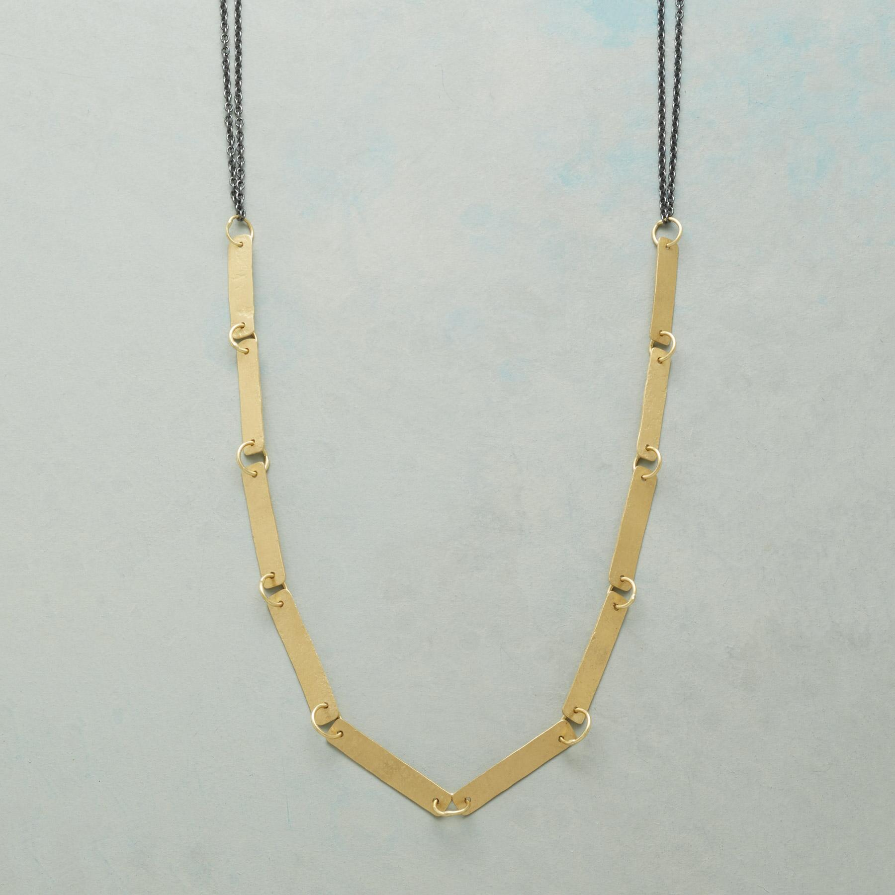 GOLDEN INTERLUDE NECKLACE: View 1