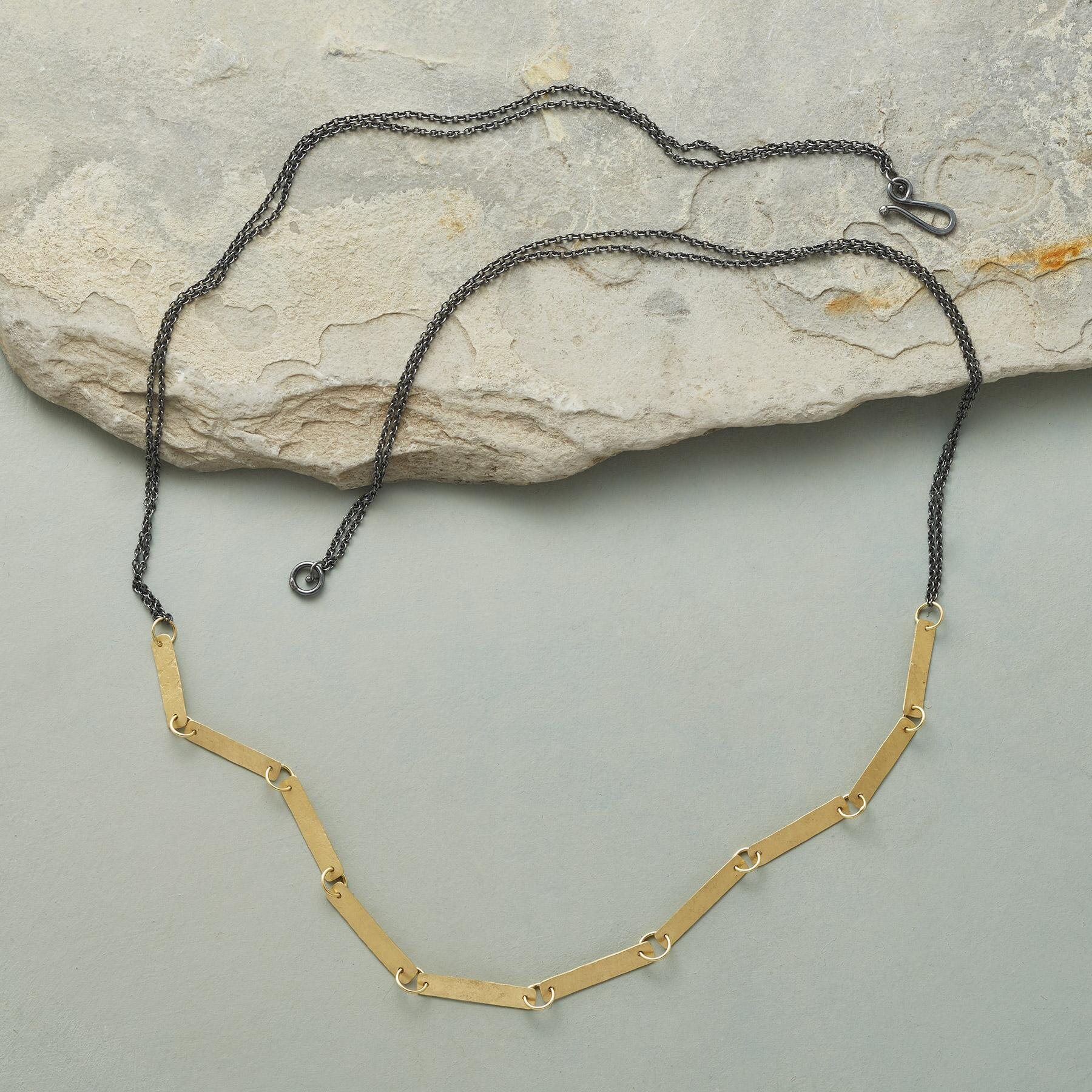 GOLDEN INTERLUDE NECKLACE: View 2