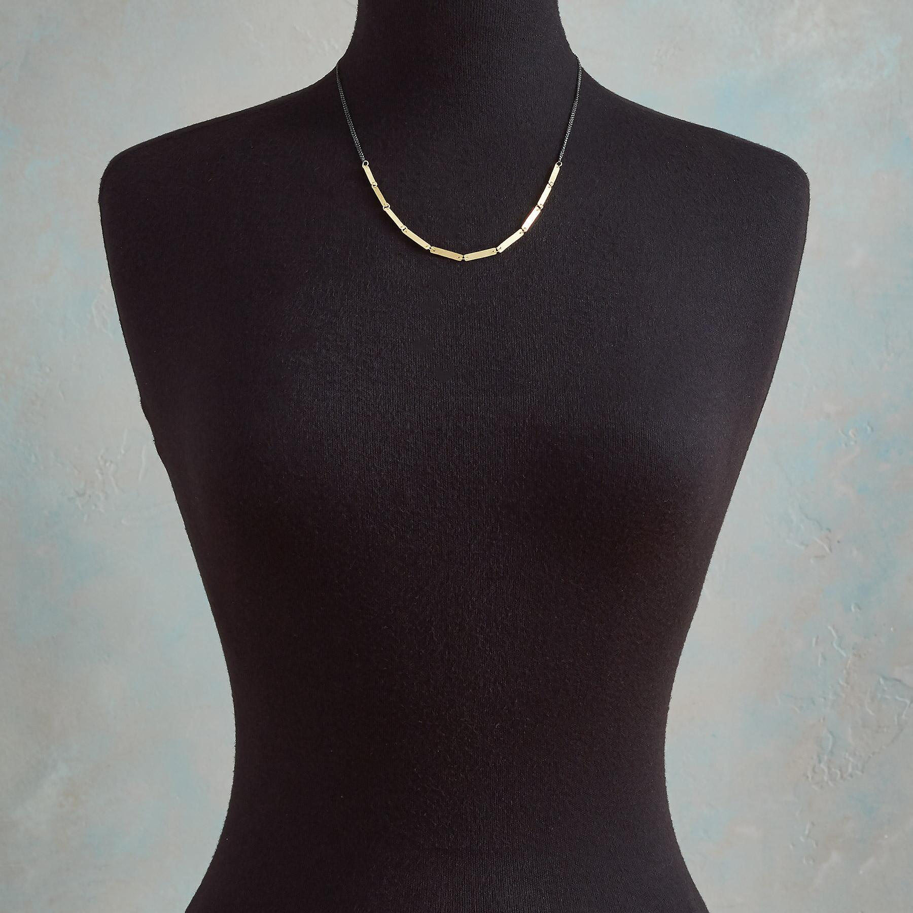 GOLDEN INTERLUDE NECKLACE: View 4