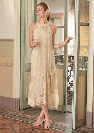 ADARA HALTER DRESS