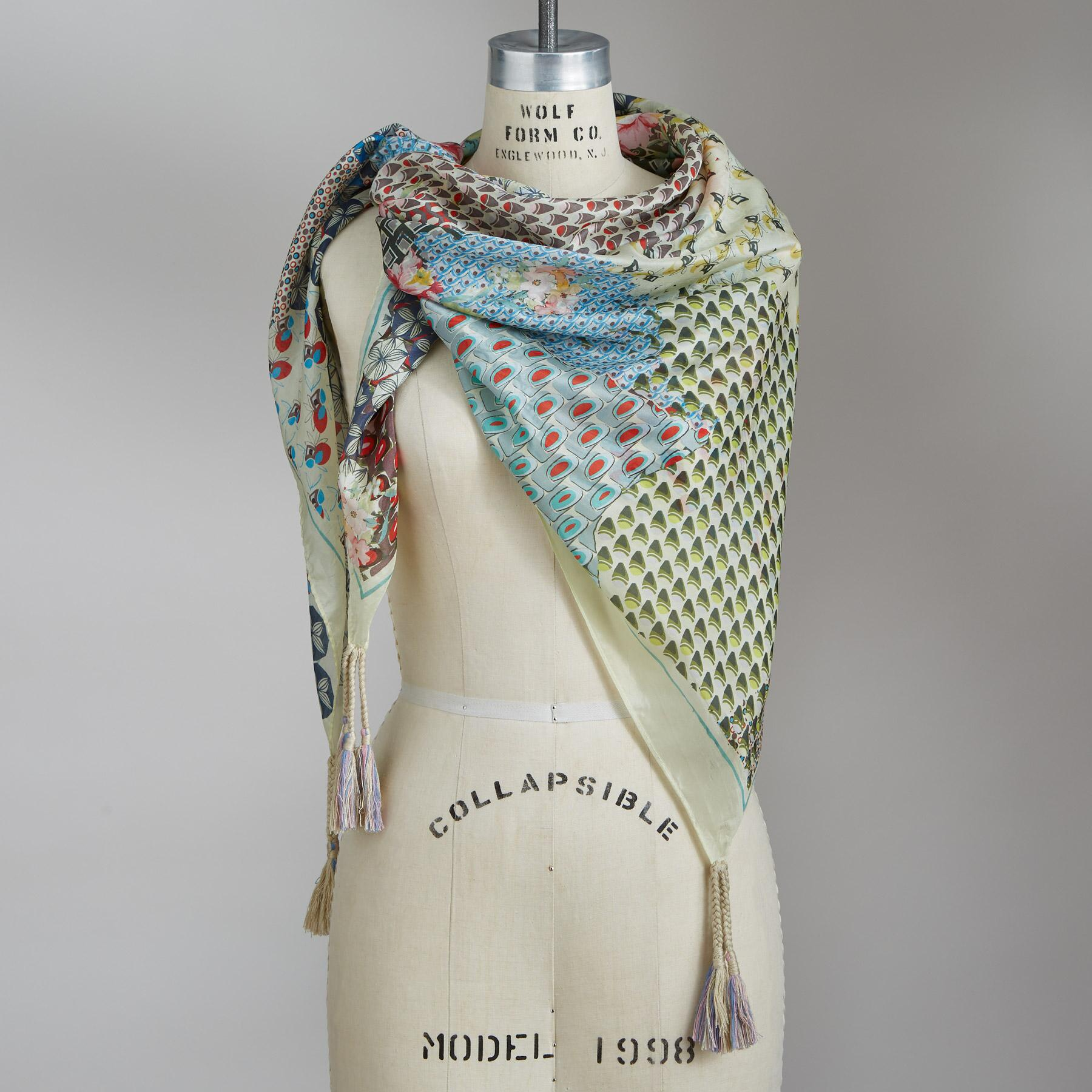 FLORAL UNION SCARF: View 1