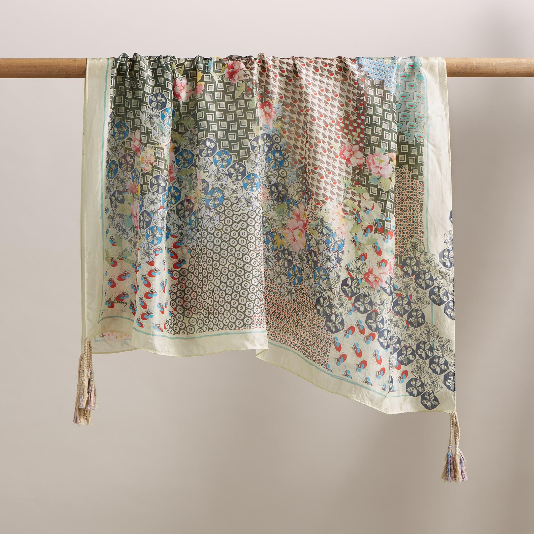 FLORAL UNION SCARF: View 2