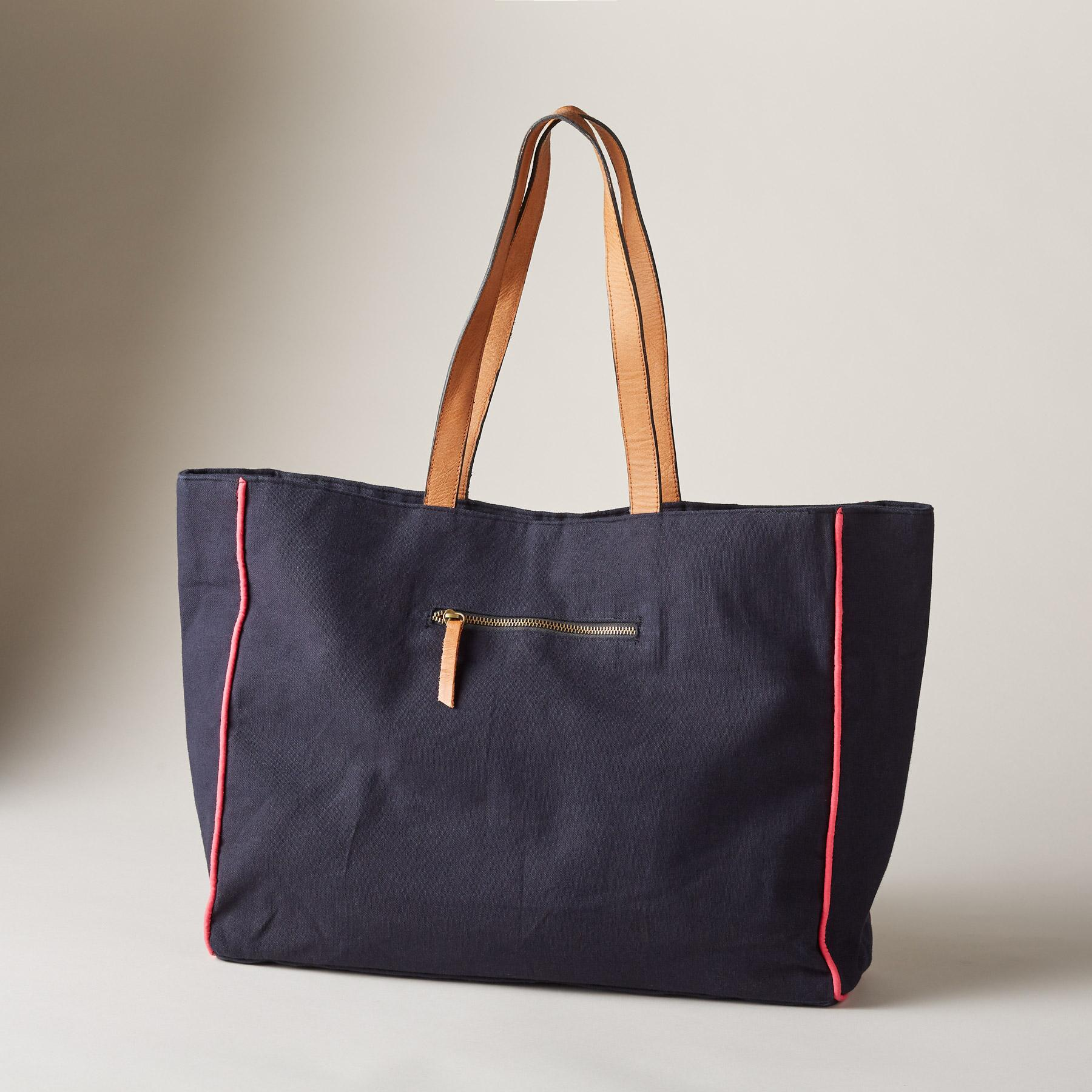ALPINE BLOOMS TOTE: View 2