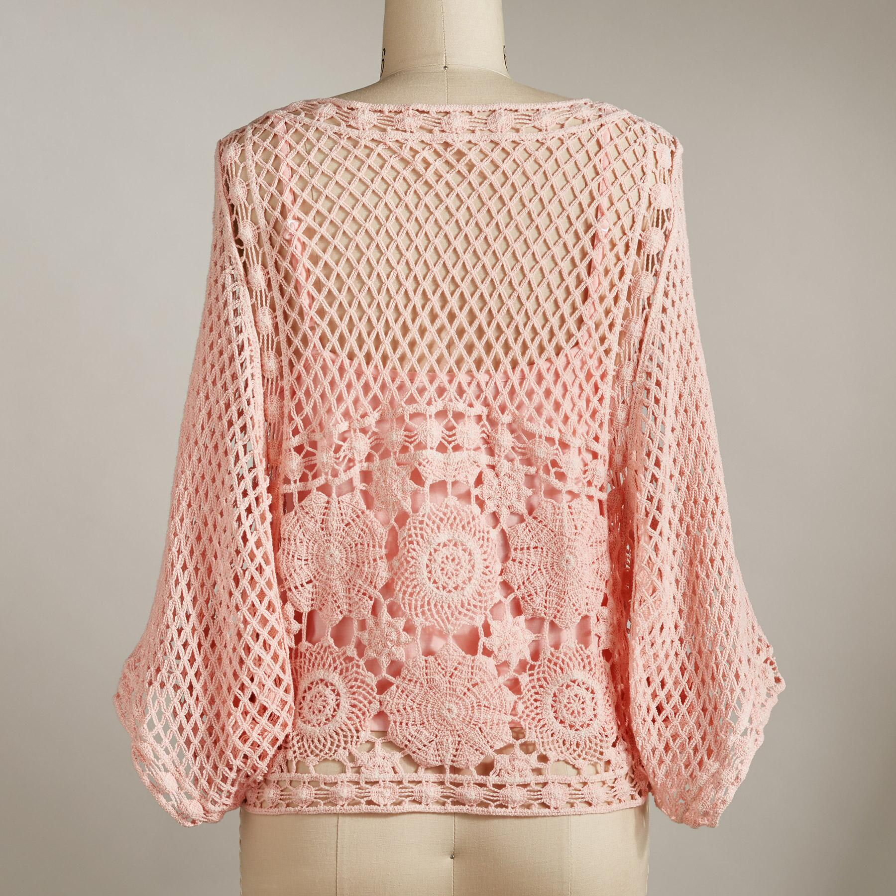 CRUSH ON CROCHET TOP: View 2
