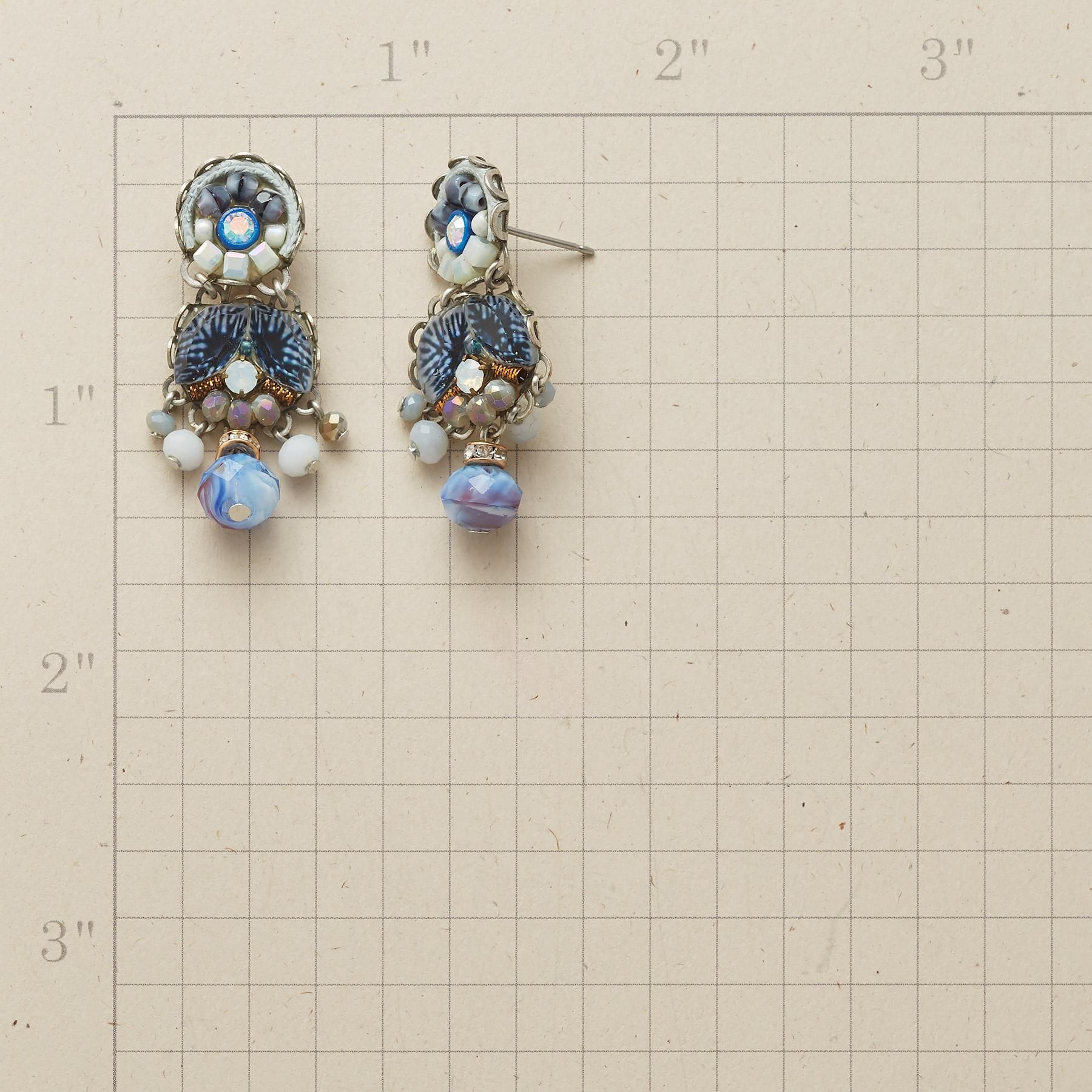 CHINA BLUE EARRINGS: View 2