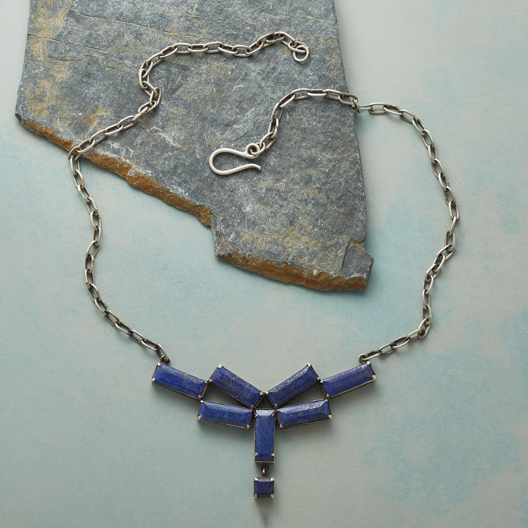 TILEWORK LAPIS NECKLACE: View 2