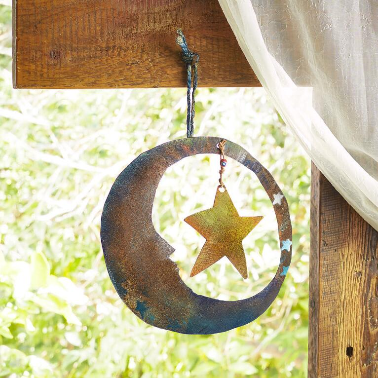 DANCING WITH THE MOON HANGING ART