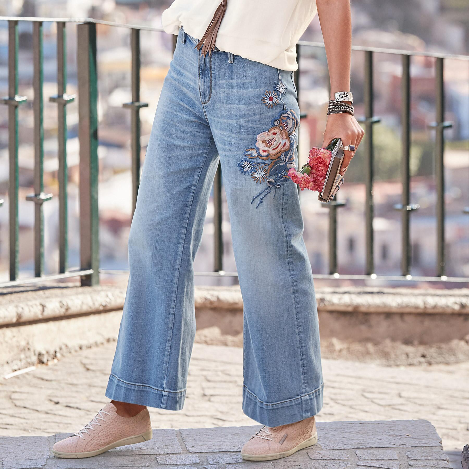 CHARLEE BLOSSOM JEANS BY DRIFTWOOD: View 1