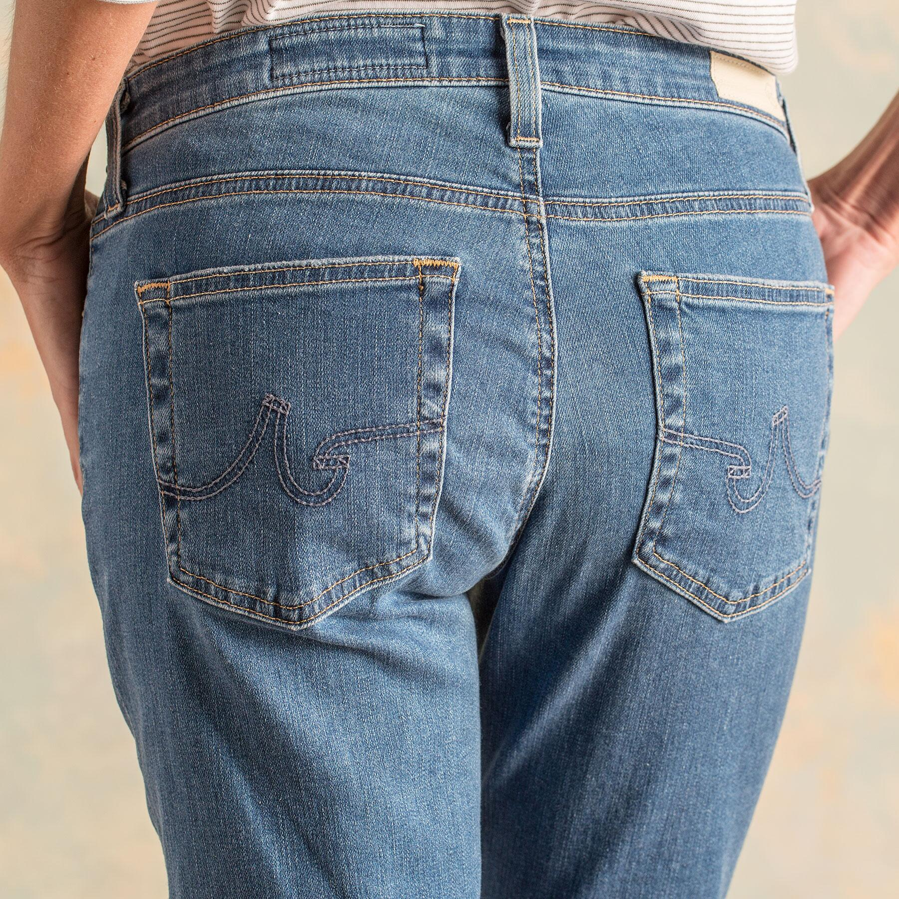 VINTAGE PRIMA JEANS BY A G: View 3
