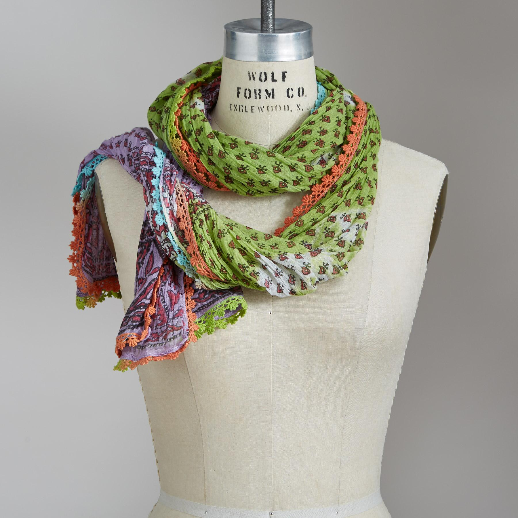 FIELDS OF TUSCANY SCARF: View 1