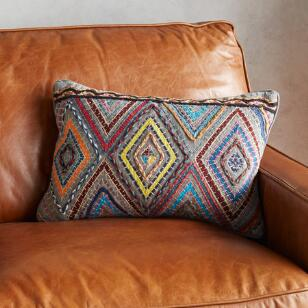 GRAY CHIARA PILLOW